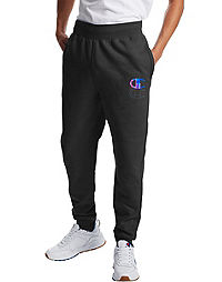 Champion Life Men's Reverse Weave Joggers, Big C Logo
