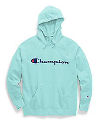Champion Women's Plus Powerblend® Fleece Hoodie, Script Logo