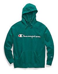 Champion Women's Plus Powerblend® Fleece Hoodie, Script Logo