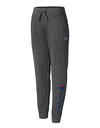 Champion Women's Plus Powerblend® Fleece Joggers, Vertical Logo