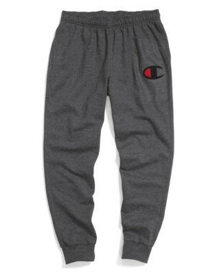 Champion Men's Powerblend® Fleece Joggers, Big C Logo