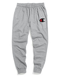 Champion Men's Powerblend® Fleece Joggers, Big C Logo