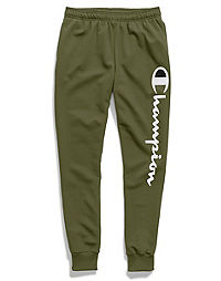 Champion Men's Powerblend® Fleece Joggers, Vertical Script Logo