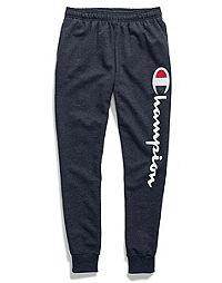 Champion Men's Powerblend® Fleece Joggers, Vertical Script Logo