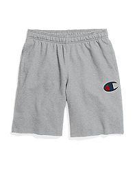 Champion Men's Powerblend™ Fleece Shorts, C Logo
