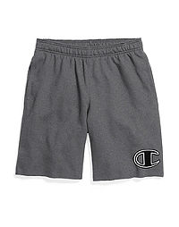 Champion Men's Powerblend™ Fleece Shorts, Big C Logo