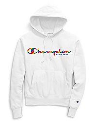 Exclusive Champion Life® Men's Reverse Weave® Pride Pullover Hoodie, Rainbow Logo