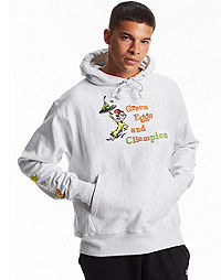 Champion Life® x Dr. Seuss Reverse Weave® Hoodie, Green Eggs & Champion
