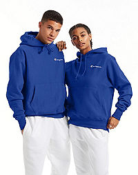 Champion Life® Men's Reverse Weave® Pullover Hoodie, Embroidered Logo