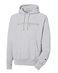 Champion Life® Reverse Weave® Pullover Hoodie, Script Logo