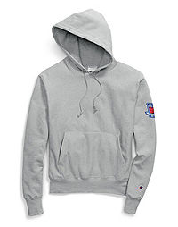 Champion Life® Men's Reverse Weave® Pullover Hood, 80th Anniversary Patch