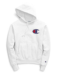 Champion Life® Men's Reverse Weave® Pullover Hood, Sublimated C Logo