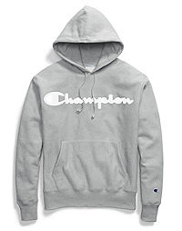 Champion Life® Men's Reverse Weave® Hoodie, Mesh & Leather Logo