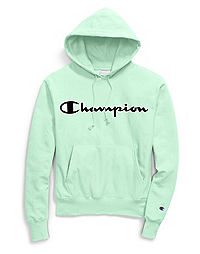 00496d31 Champion Life® Men's Reverse Weave® Hoodie, Mesh & Leather Logo
