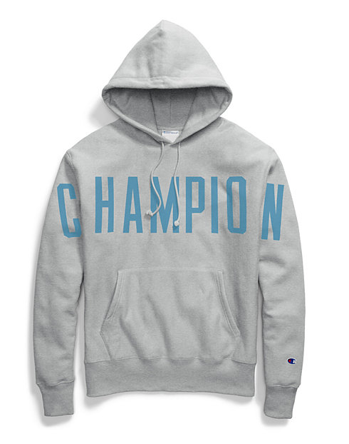 Champion Life® Men's Reverse Weave® Pullover Hoodie, Oversized Arch Logo