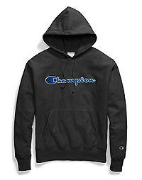 Champion Life® Men's Reverse Weave® Pullover Hood, Chenille Logo