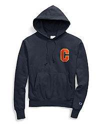 Champion Life® Men's Reverse Weave® Pullover Hoodie, Floss Stitch C Logo