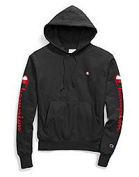 Champion Life® Men's Reverse Weave® Hoodie, 90's Flocked Logo