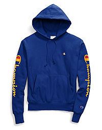 Champion Life® Men's Reverse Weave® Hoodie, 90's Flocked Logo