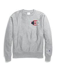 Champion Life® Reverse Weave® Crew, C Flag