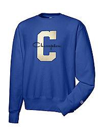 Champion Life® Reverse Weave® Crew, Varsity C Logo