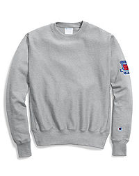Champion Life® Men's Reverse Weave® Crew, 80th Anniversary Patch
