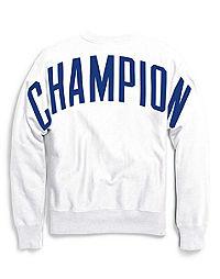 Champion Life® Men's Reverse Weave® Crew, Oversized Arch Logo