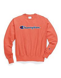 Champion Life® Men's Reverse Weave® Crew, Chenille Logo