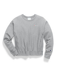 Champion Life® Women's Reverse Weave® Crew, Embroidered Logo