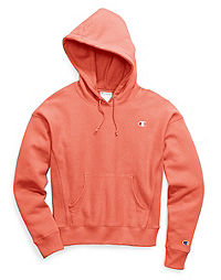 Champion Life® Women's Reverse Weave® Pullover Hood, C logo