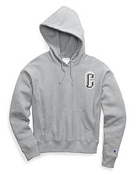 Champion Life® Women's Reverse Weave® Pullover Hoodie, Floss Stitch C Logo