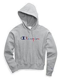 Champion Life® Women's Reverse Weave® Pullover Hoodie, 3-Color Vintage Logo