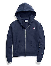 Champion Life® Women's Reverse Weave® Full Zip Hood, C Logo