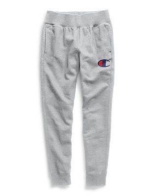 Champion Life® Women's Reverse Weave® Joggers, Embroidered Big C Logo by Champion
