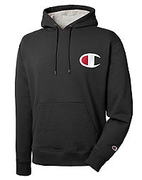 Champion Men's Powerblend® Pullover Hoodie, Big C Logo