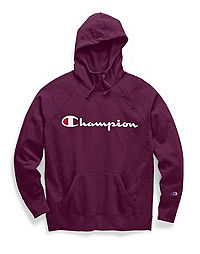 08cd27ee Champion Women's Powerblend® Fleece Pullover Hoodie, Script Logo