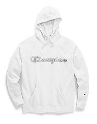 Champion Women's Powerblend® Fleece Pullover Hoodie, Chainstitch Logo
