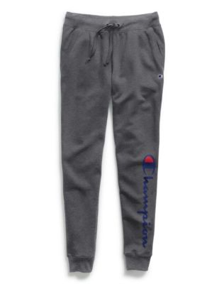 Champion Women's Powerblend® Fleece Joggers, Vertical Logo