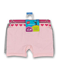 Hanes Premium Girls' Playshorts 5-Pack
