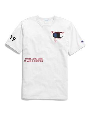 Exclusive Champion Life® Men's Heritage Tee, Champion Focus 4