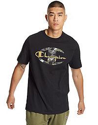 Exclusive Champion Life® Men's Heritage Tee, Camo + Gold Logo