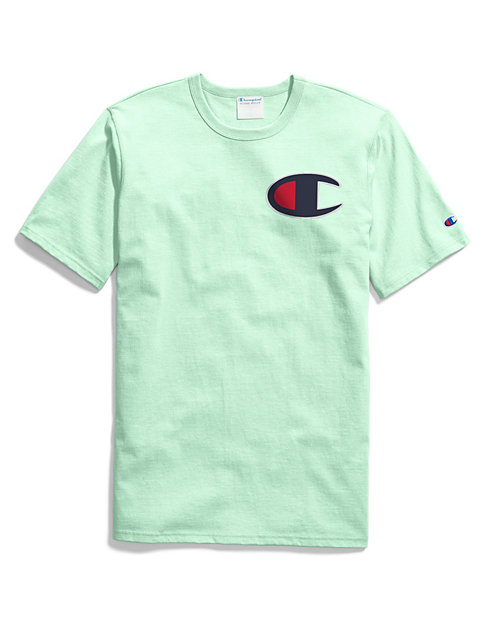 68569a84 Men's Heritage Tee Large Logo | Champion