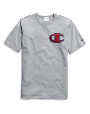 35f709532019 Champion Life® Men's Heritage Tee, Floss Stitch C Logo | Champion