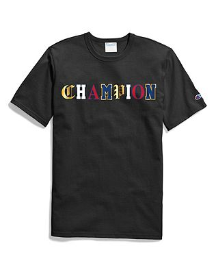 Champion Life® Men's Heritage Tee, Old English by Champion
