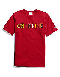Champion Life® Men's Heritage Tee, Old English Lettering