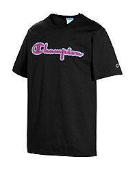 Champion Life Men's Heritage Tee, Chainstitch Logo