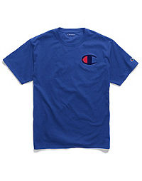 Champion Men's Graphic Jersey Tee, Big C Logo