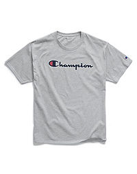 35715ebb Champion Men's Graphic Jersey Tee, Script Logo