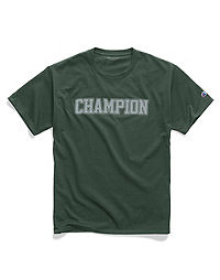 Champion Men's Graphic Jersey Tee, Mesh-Effect Logo