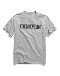 Champion Men's Graphic Jersey Tee, Mesh-Effect Logo